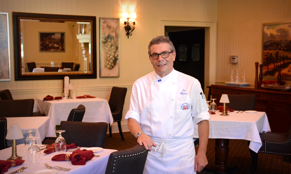 Get to Know Chef Ciro Mancini, Il Cuoco of Amici