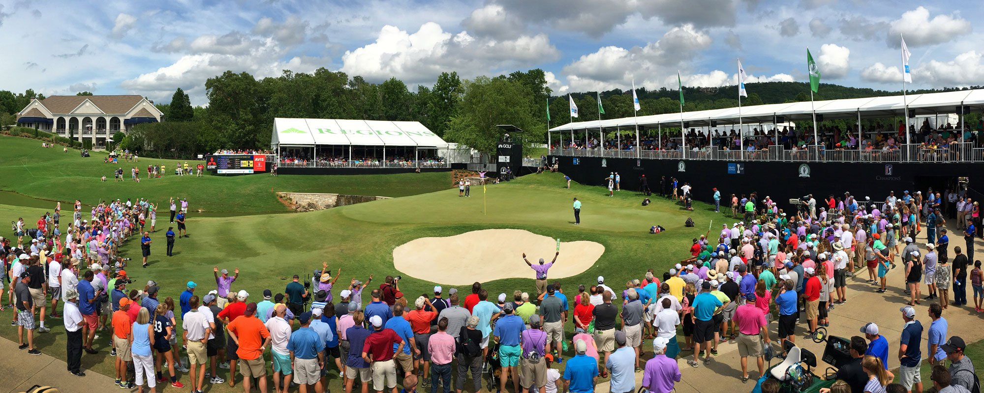 The PGA Tour Champions Return to Greystone for Regions Tradition